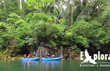 Rafting en La Selva