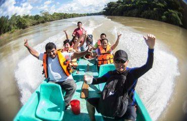 Recorrido por Rio Lacantun y Tsendales